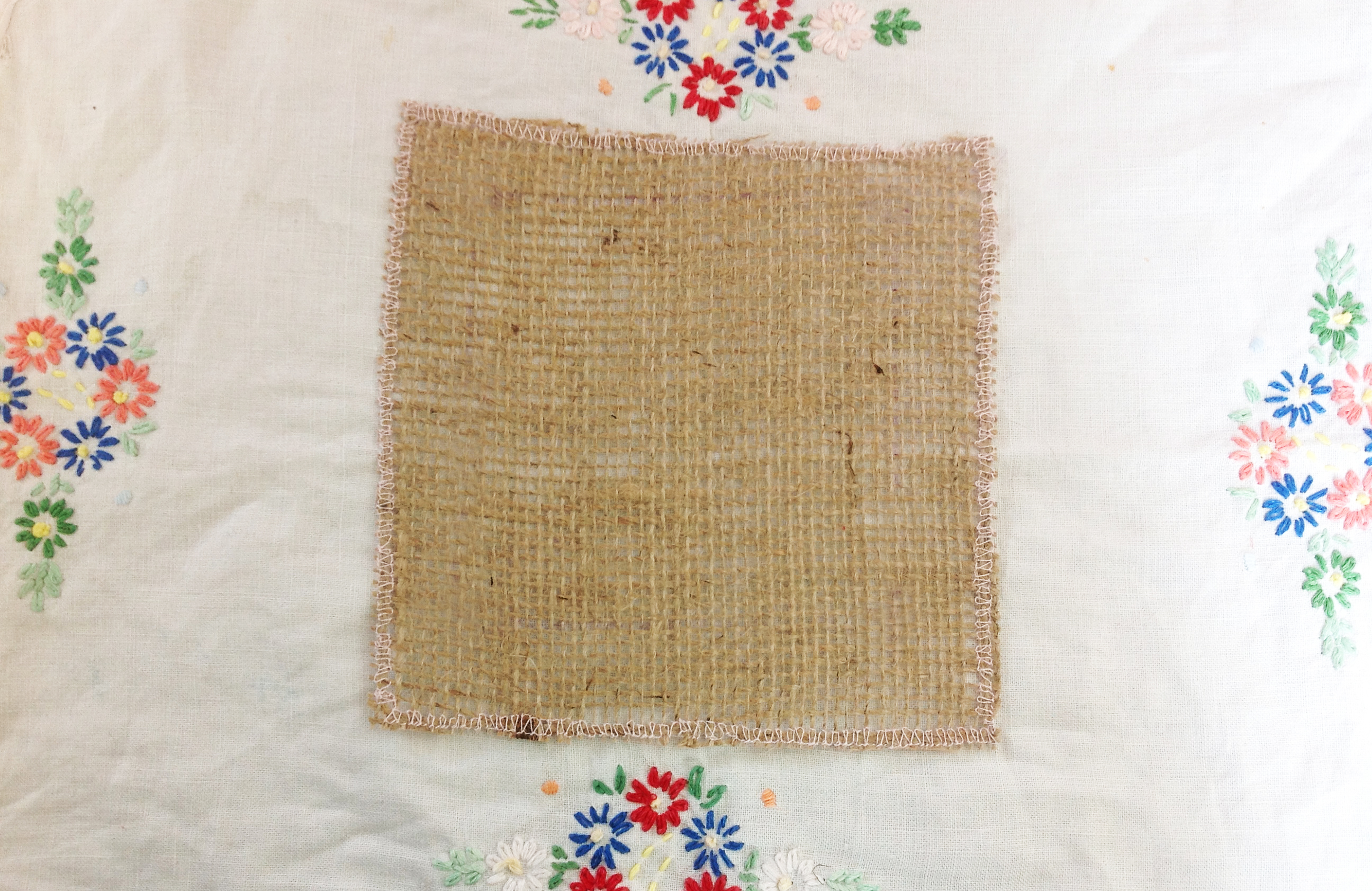Most People Would Ociate Hessian With Potato Sacks But In Rag Rugging It Acts As A Base To Weave Material Through And Hold Firm