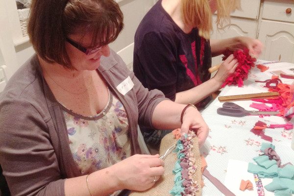 Rag Rug Workshop London