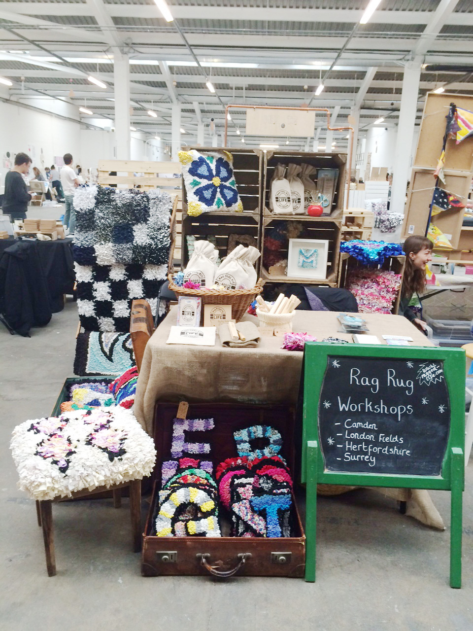 Ragged Life Craft Fair Stall