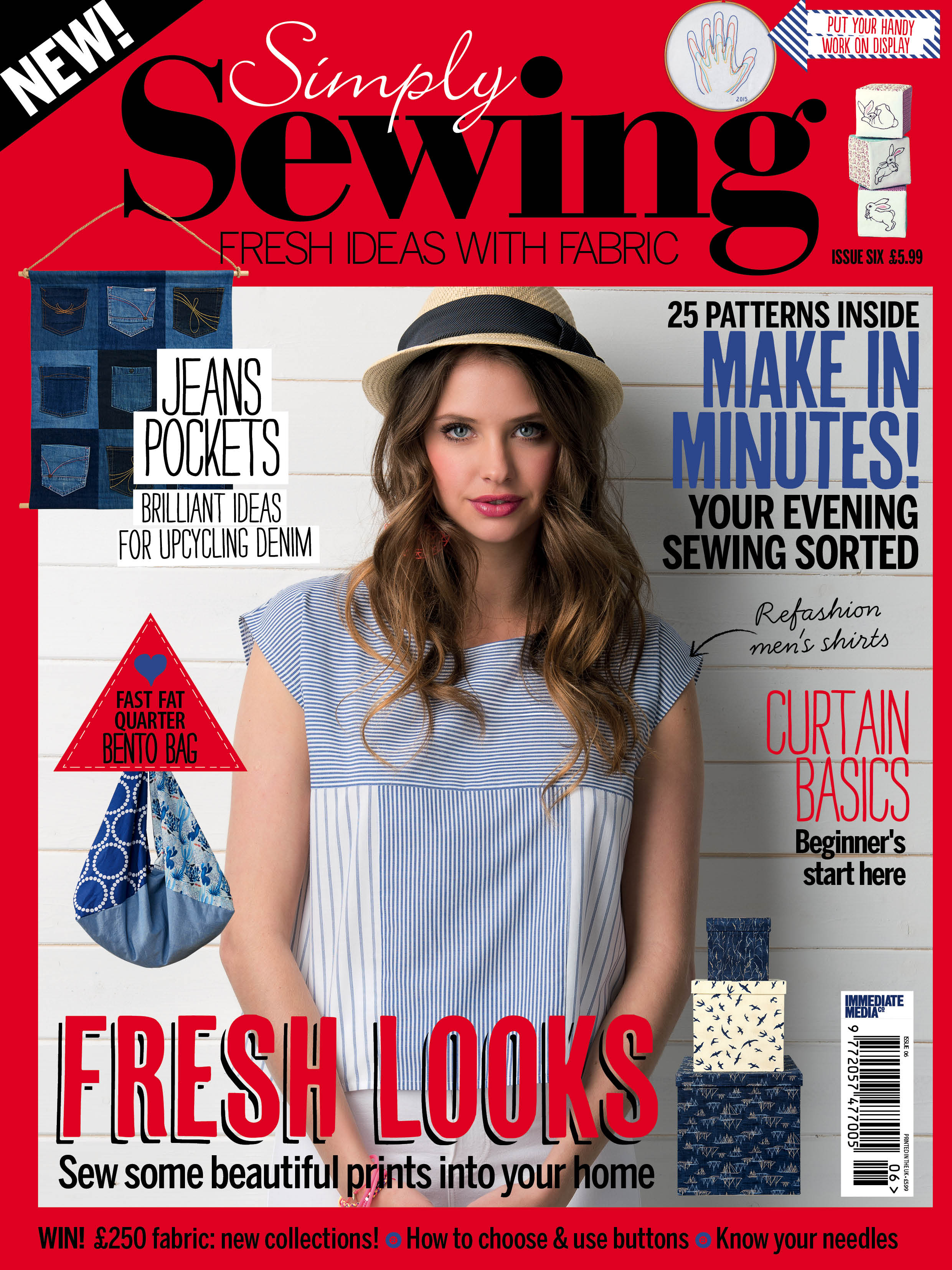 Simply Sewing Magazine Issue 6
