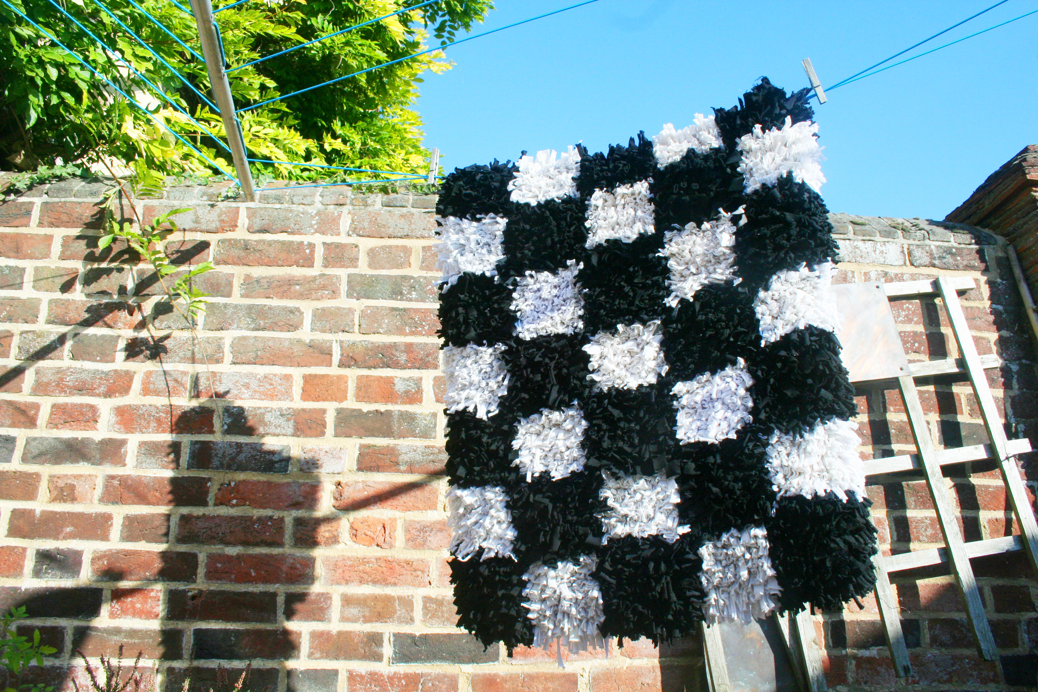 How to wash a rag rug