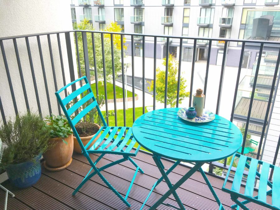 Wapping balcony london flat