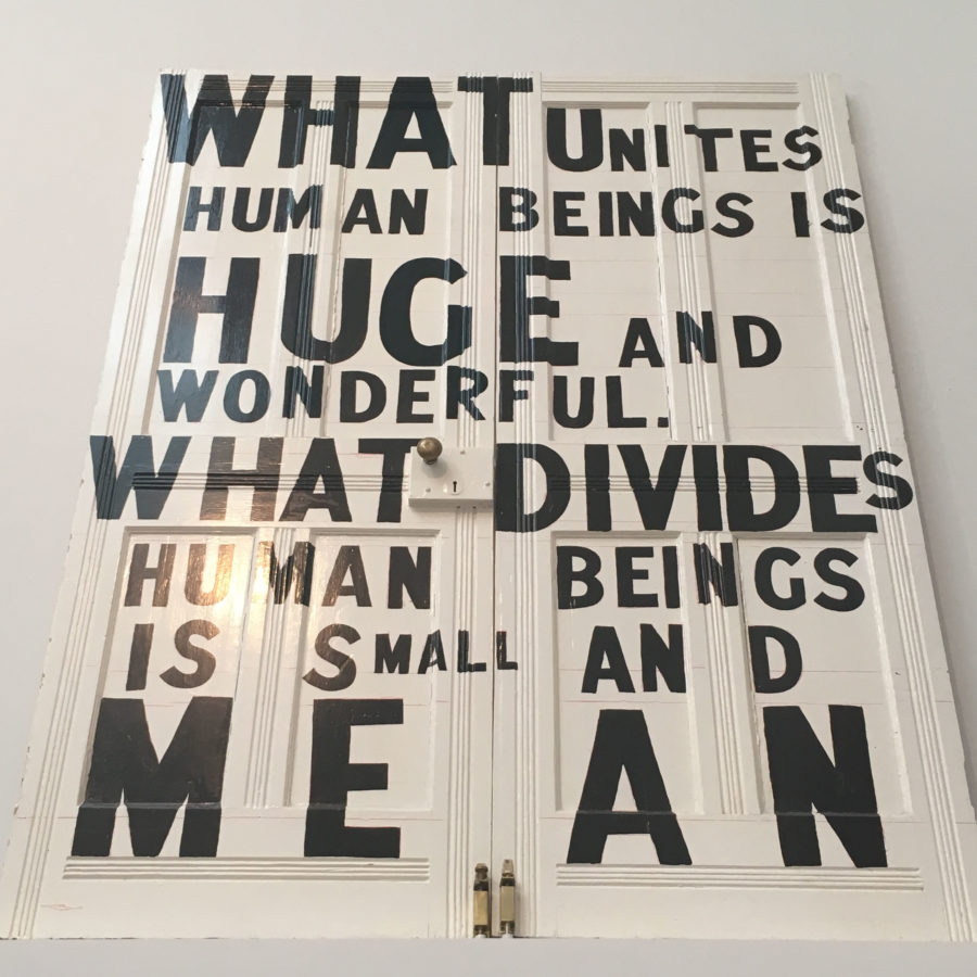 Bob and Roberta Smith What Unites Human Beings