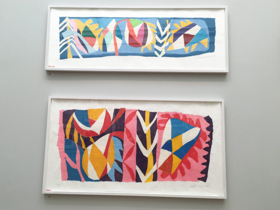 Gillian Ayres Summer Exhibition 2016