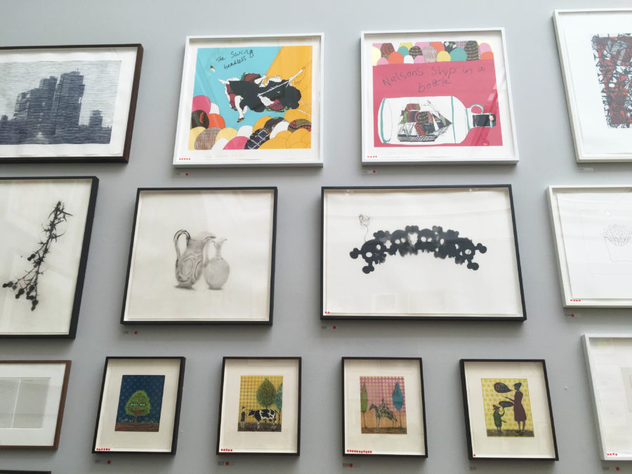 The Royal Academy Summer Exhibition 2016 Gallery Wall