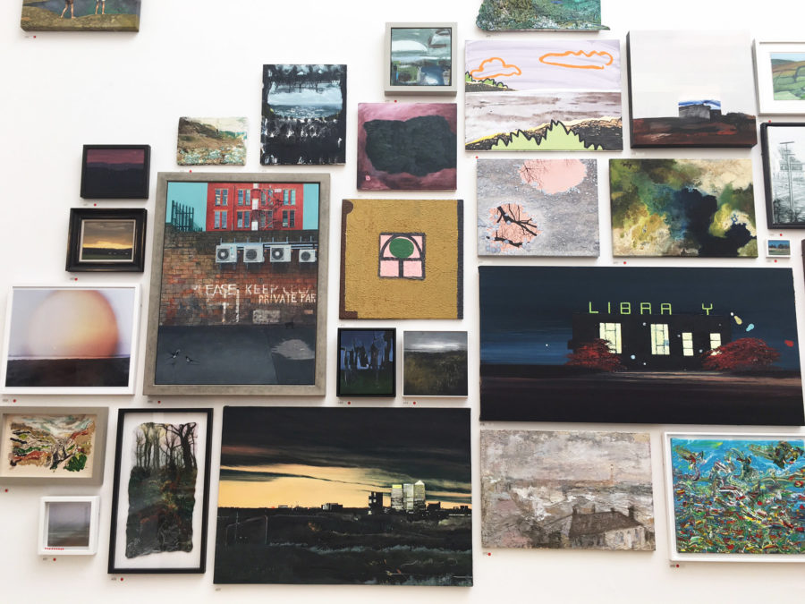 Royal Academy Summer Exhibition Gallery Wall