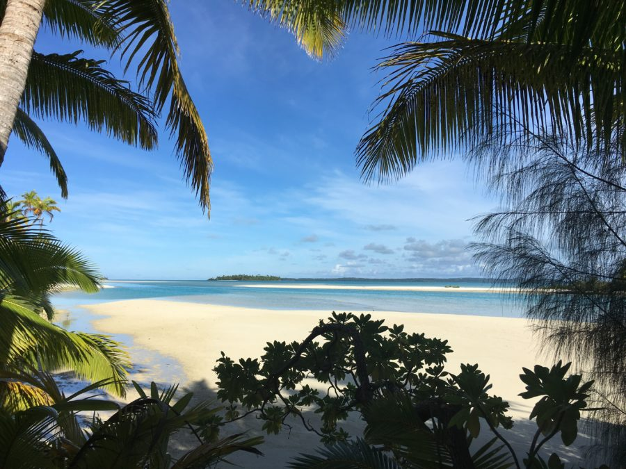 One Foot Island Aitutaki