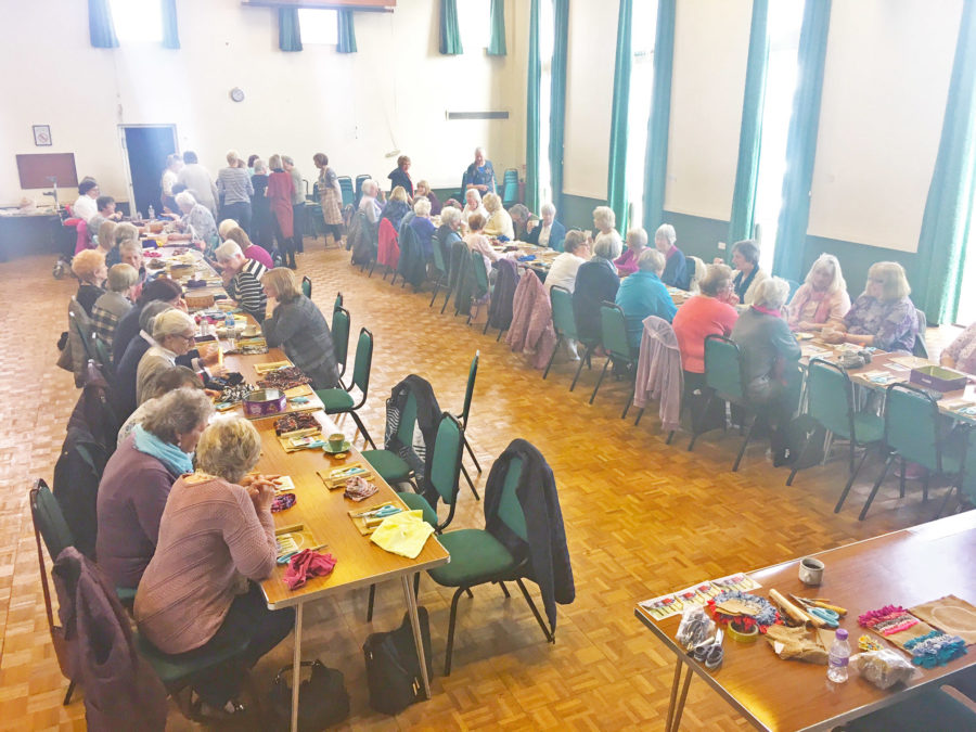 largest ever rag rug workshop