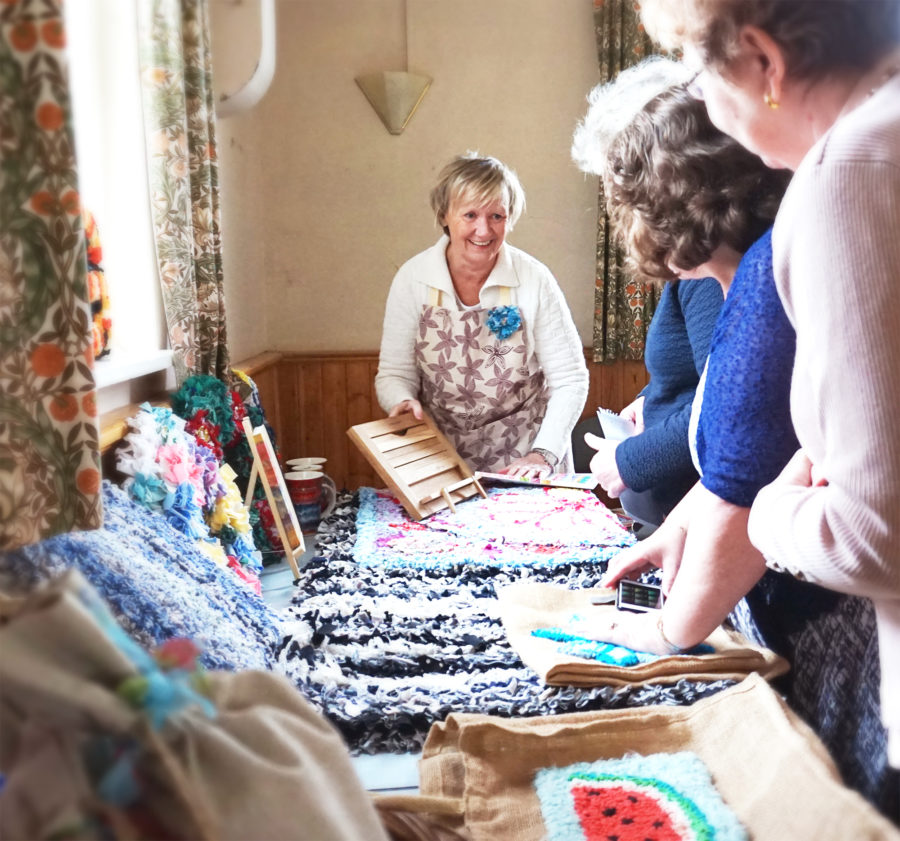 Preparation Rag Rug Workshop