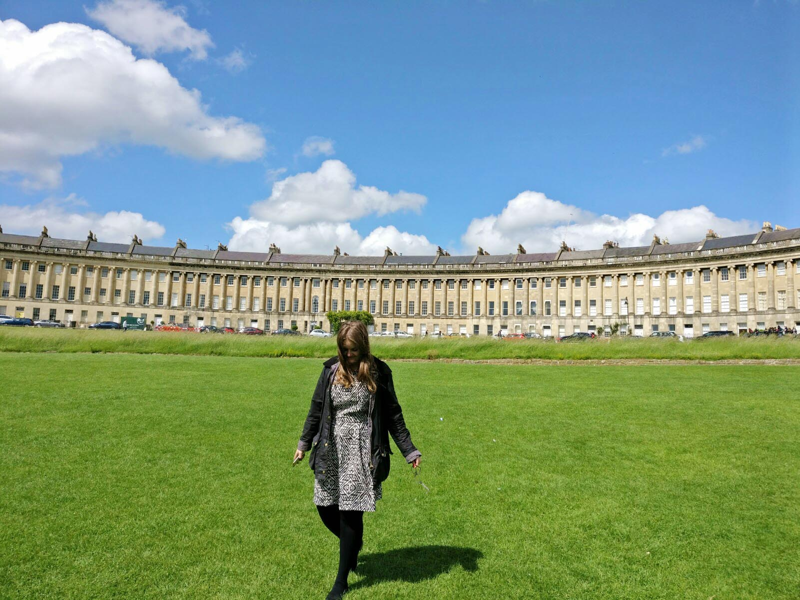 Elspeth Jackson at The Royal Crescent in Bath