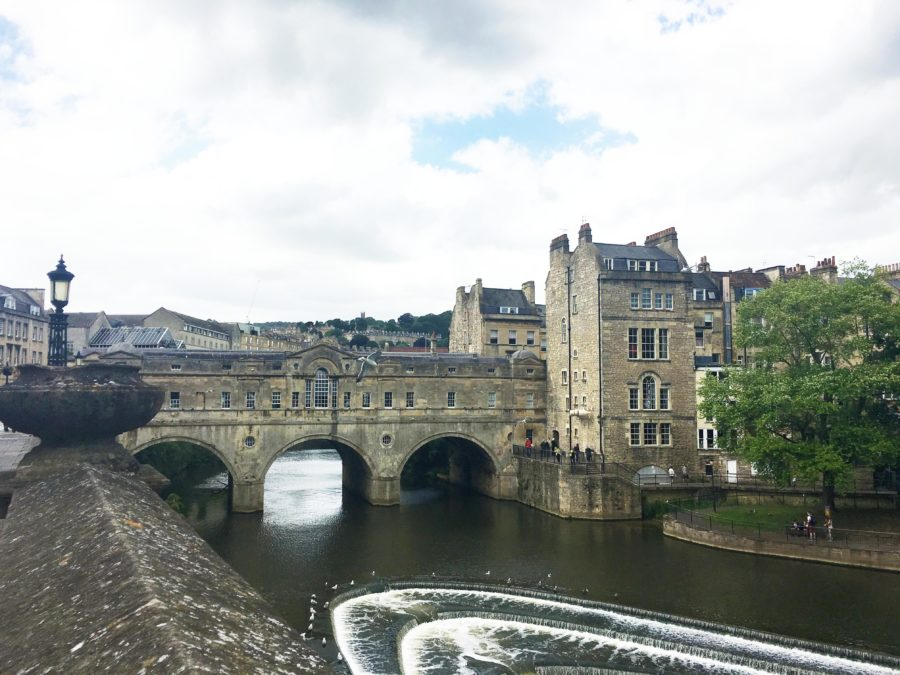 The River in the Centre of Bath