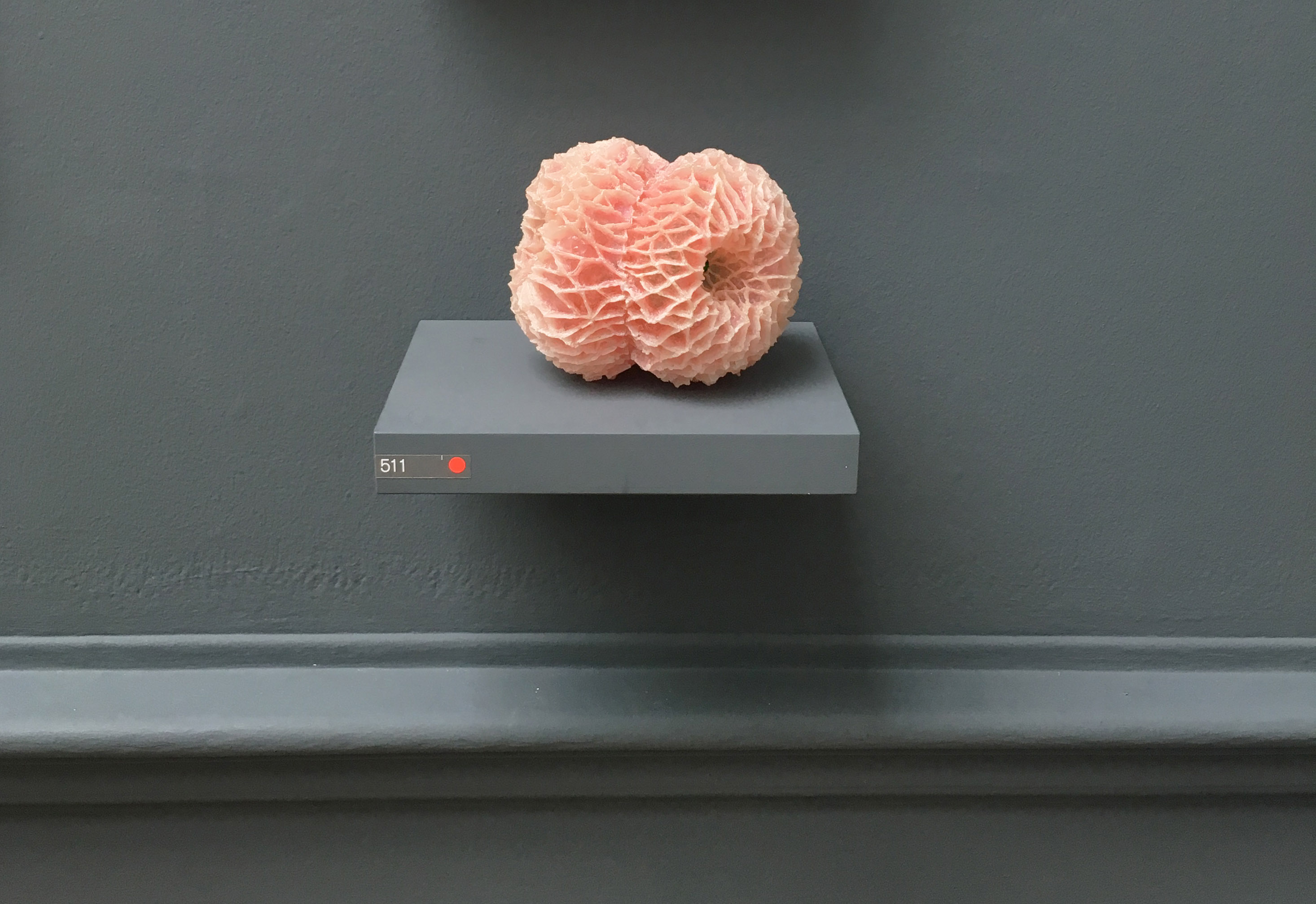Pink Coral Sculpture Royal Academy Summer Exhibition 2017