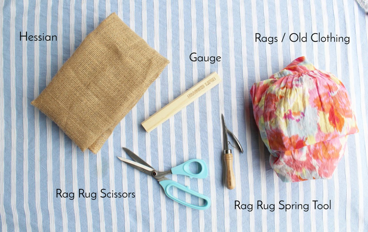 Ragged Life Rug Tools