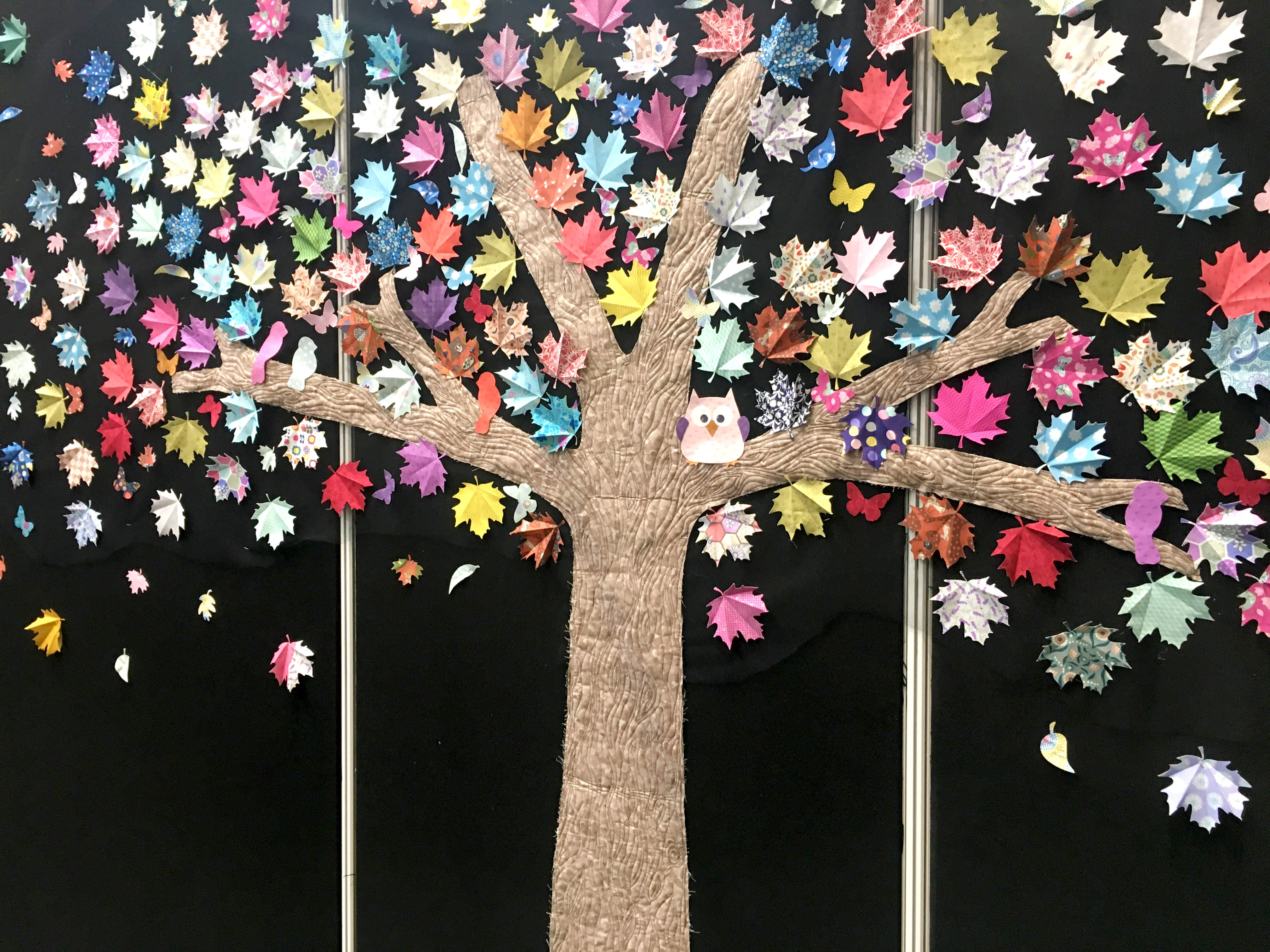 Lewis and Irene Fabric Tree at CHSI Stitches 2018