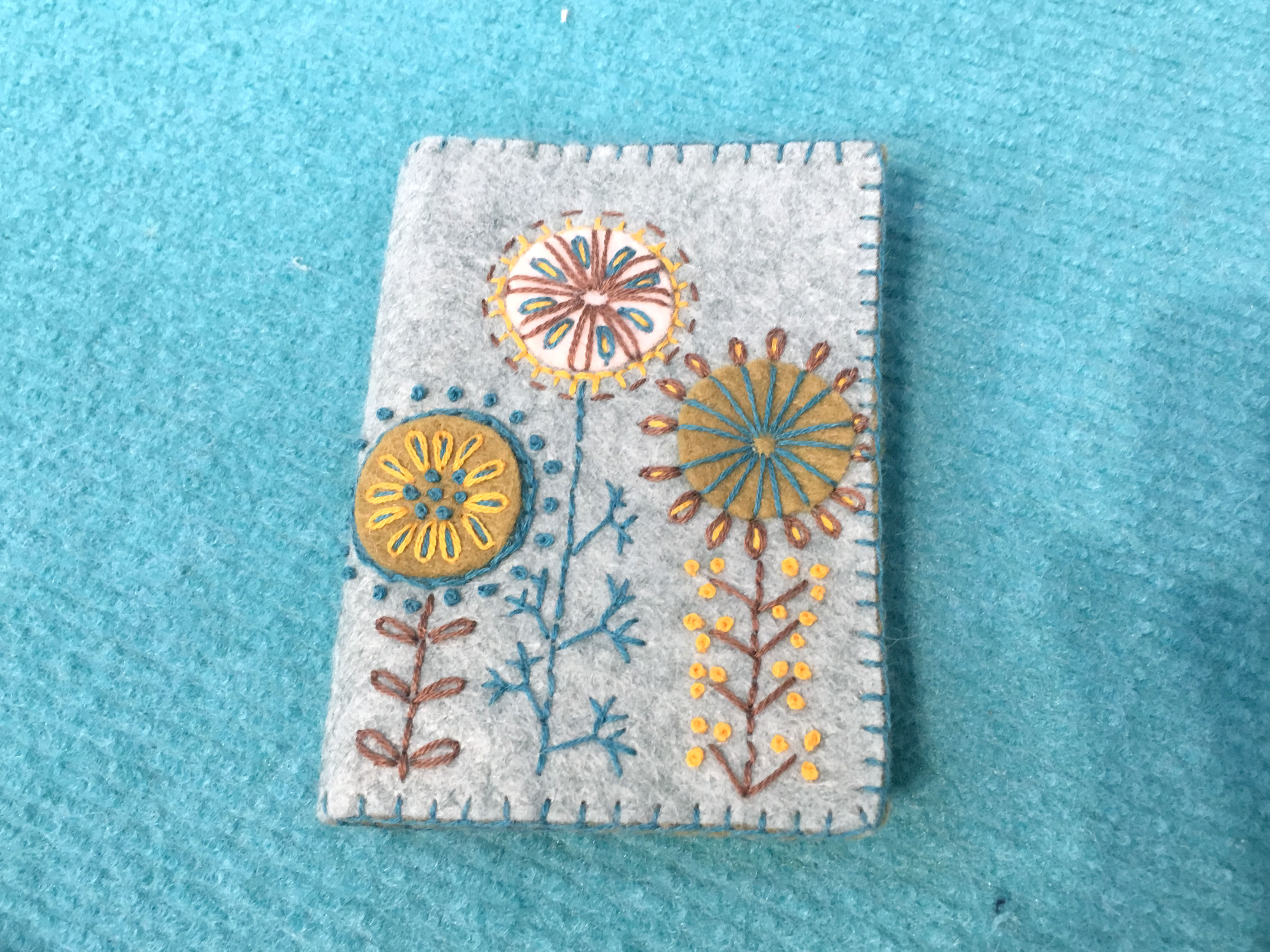 Corinne Lapierre Wool Felt Needle case