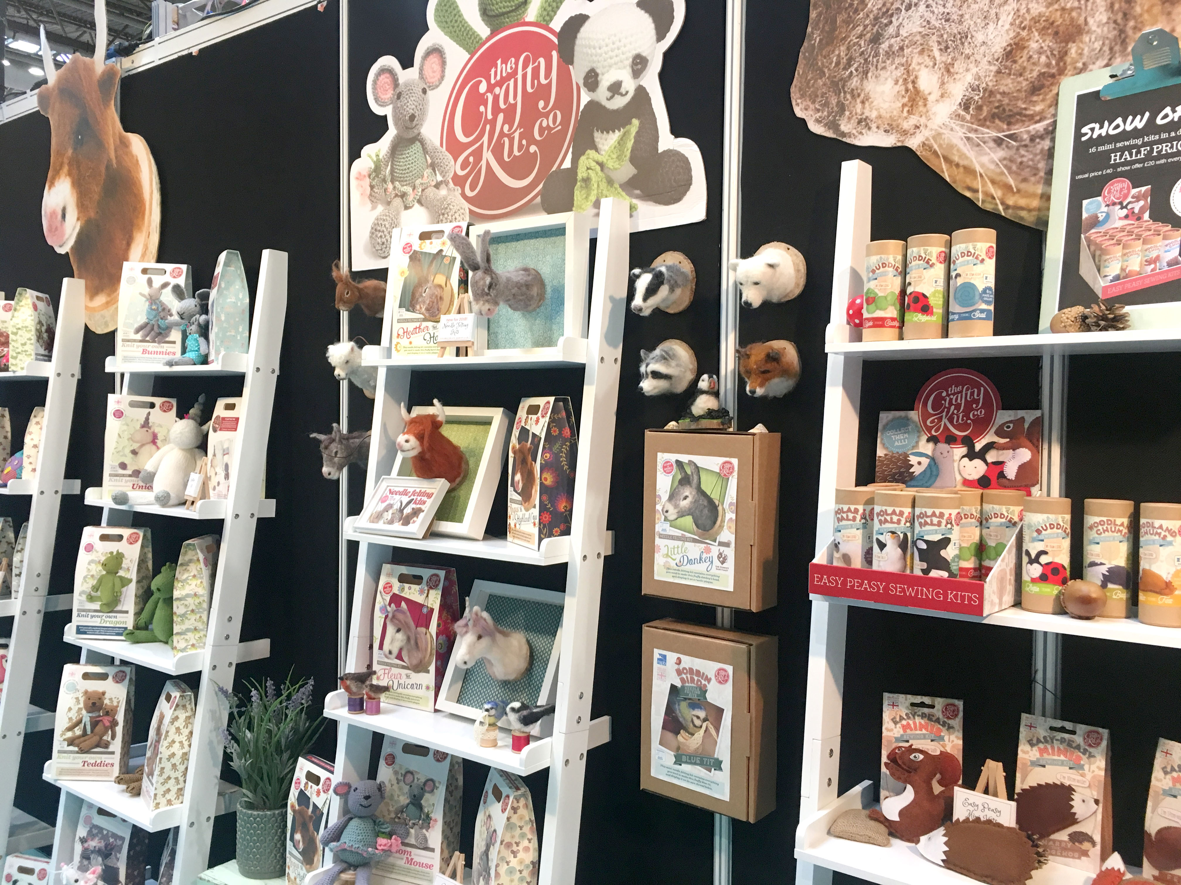 The Crafty Kit Company at CHSI Stitches 2018