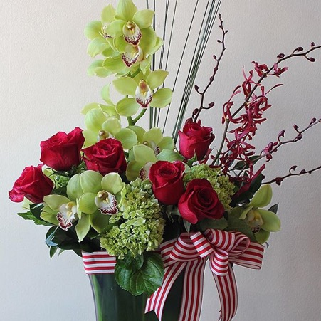 Complementary Floral Arrangment