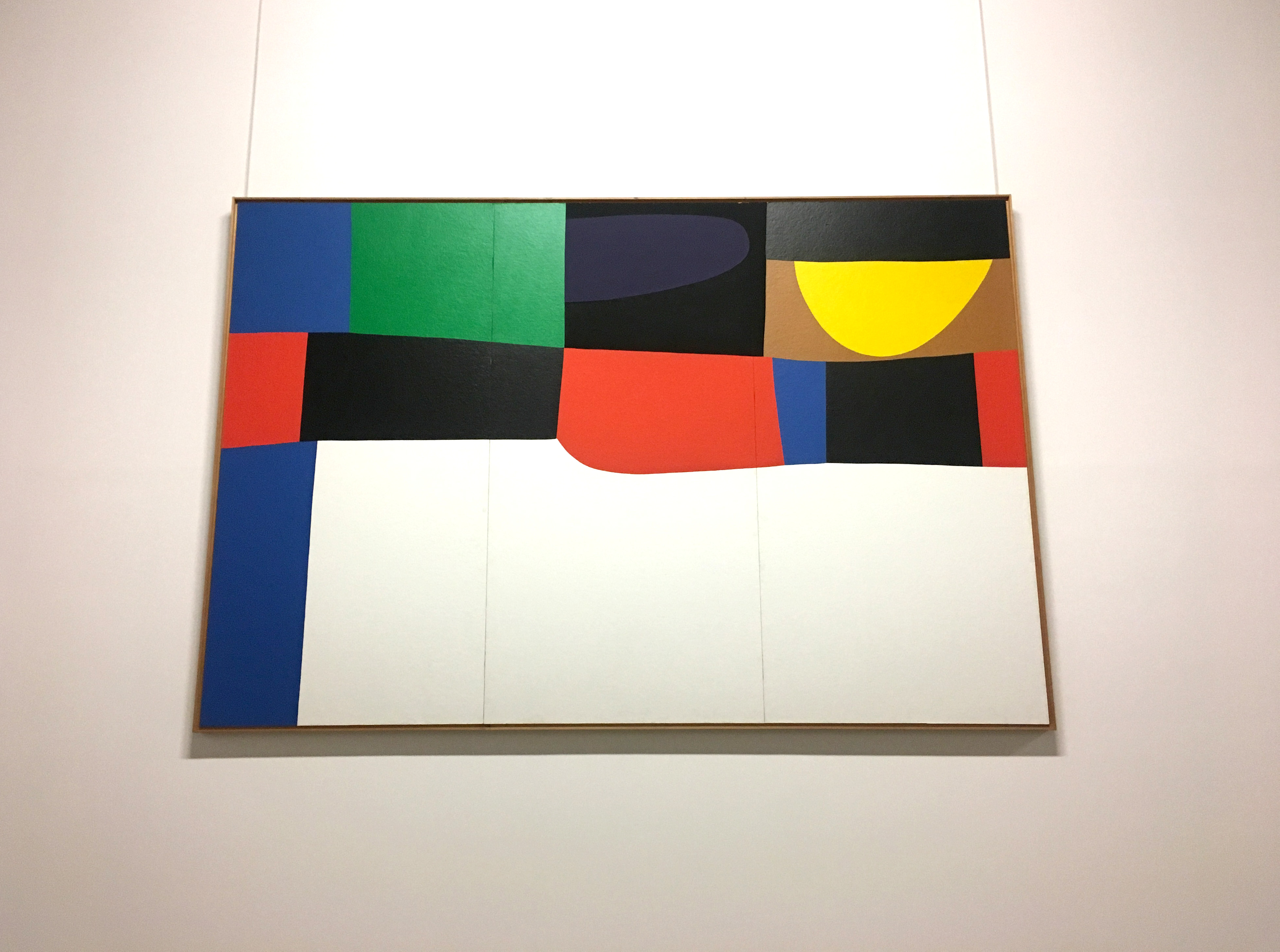Alberto Burri Blocks of colour Italian Collection