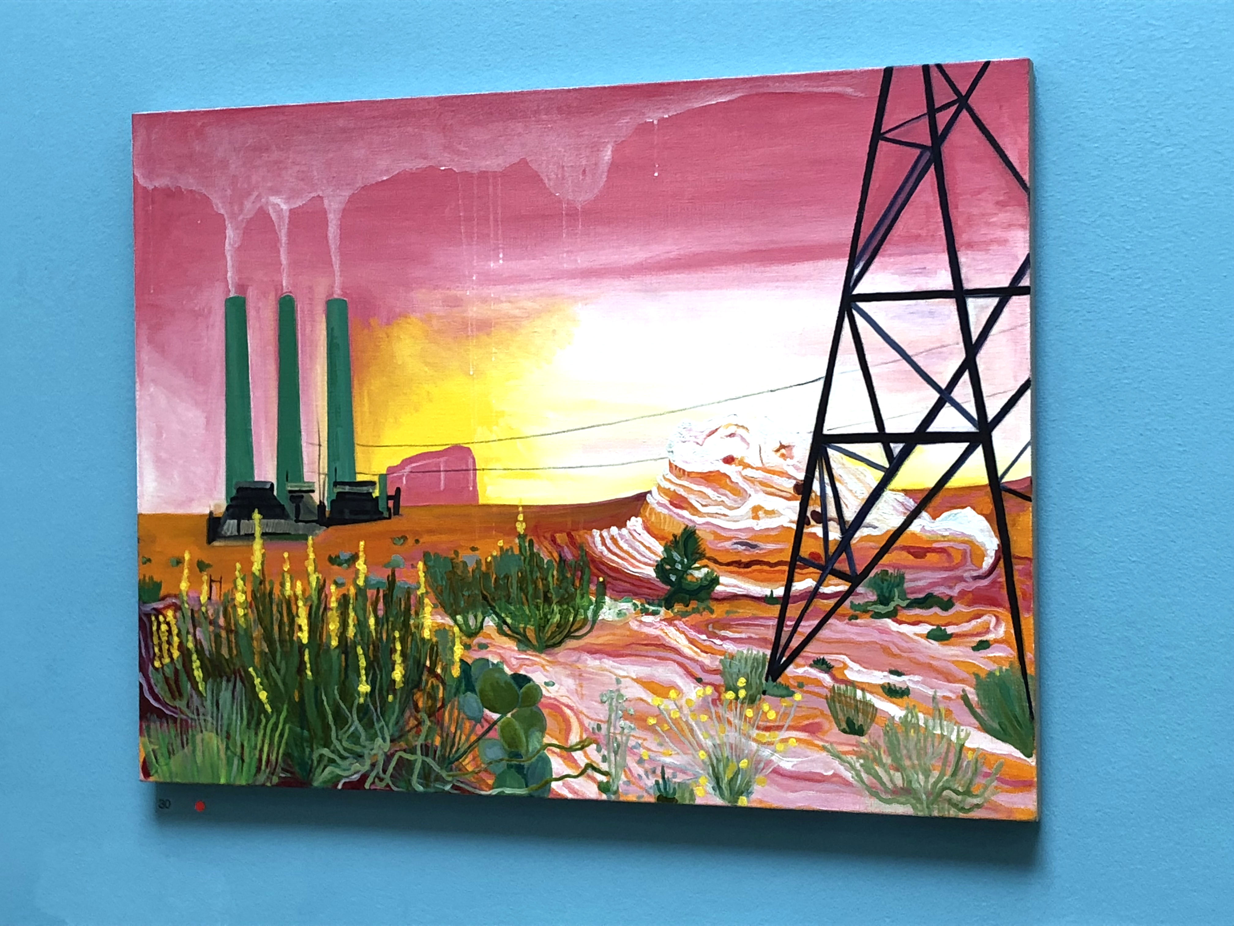 Royal Academy Summer Exhibition 2018. We Could Use A Little Bit Of That Good Old Global Warming by Lisa Rigg