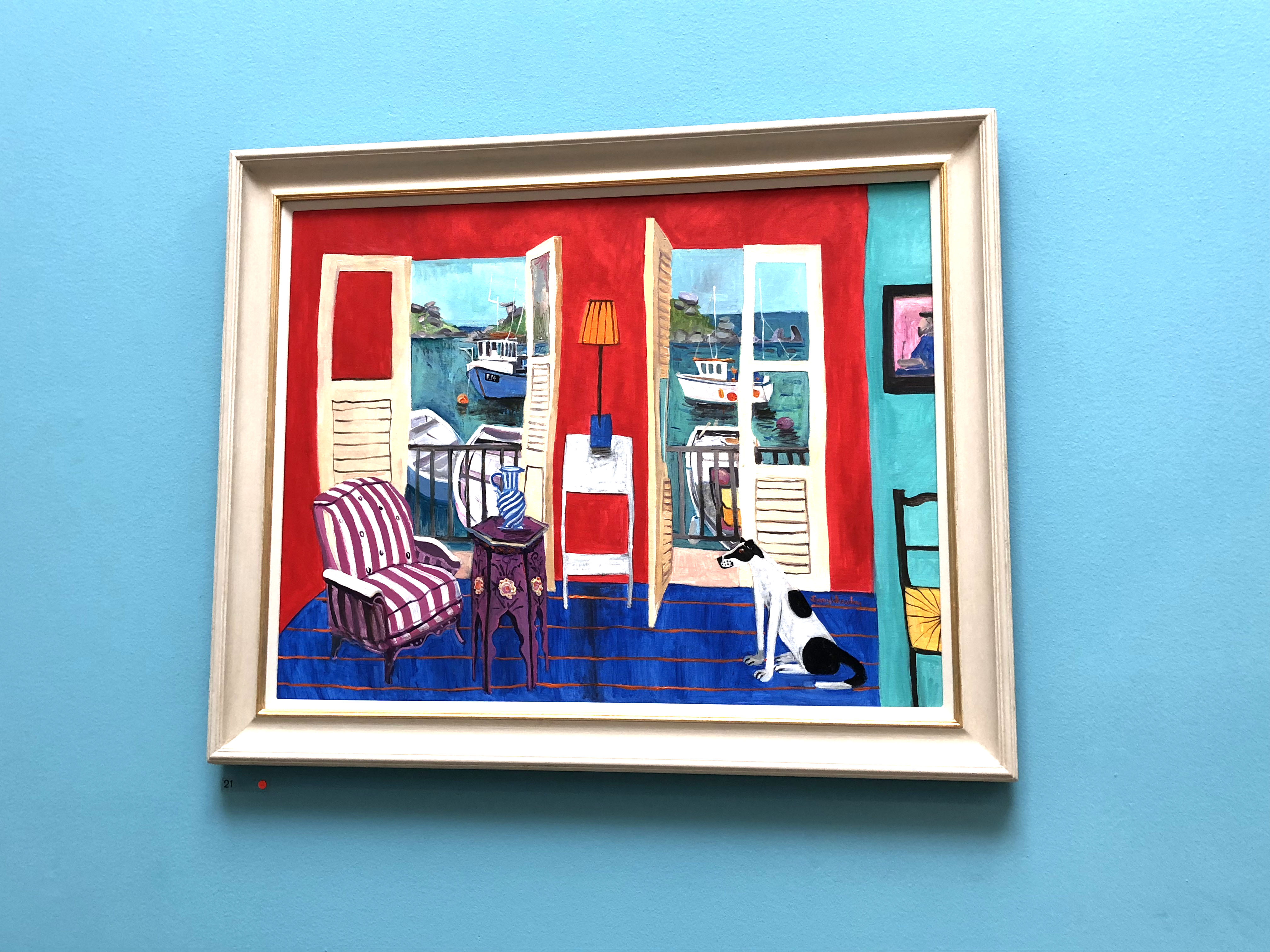 Royal Academy Summer Exhibition 2018. In Between the Islands by Jenny Wheatley