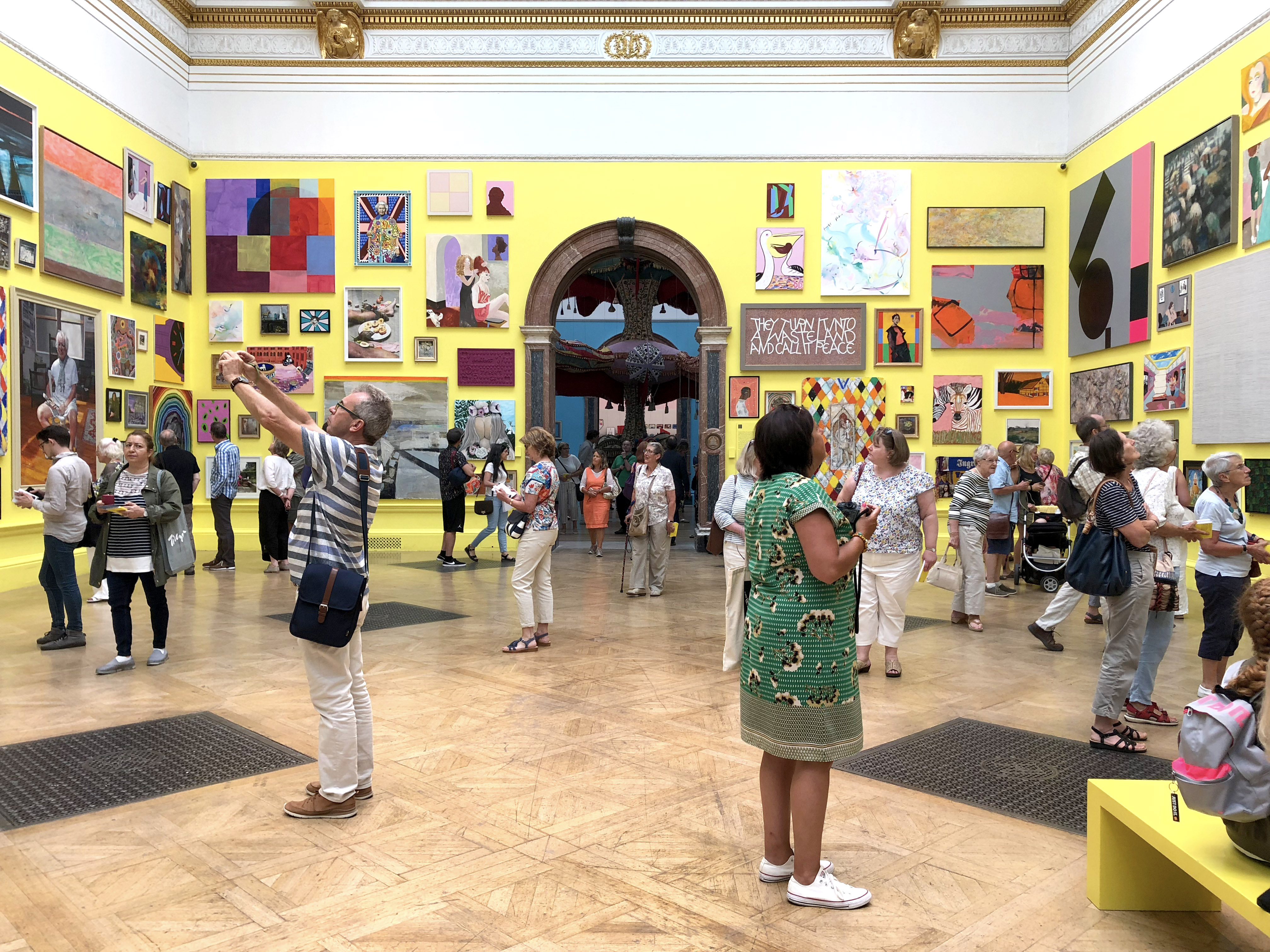 Grayson Perry Room Royal Academy Summer Exhibition 2018