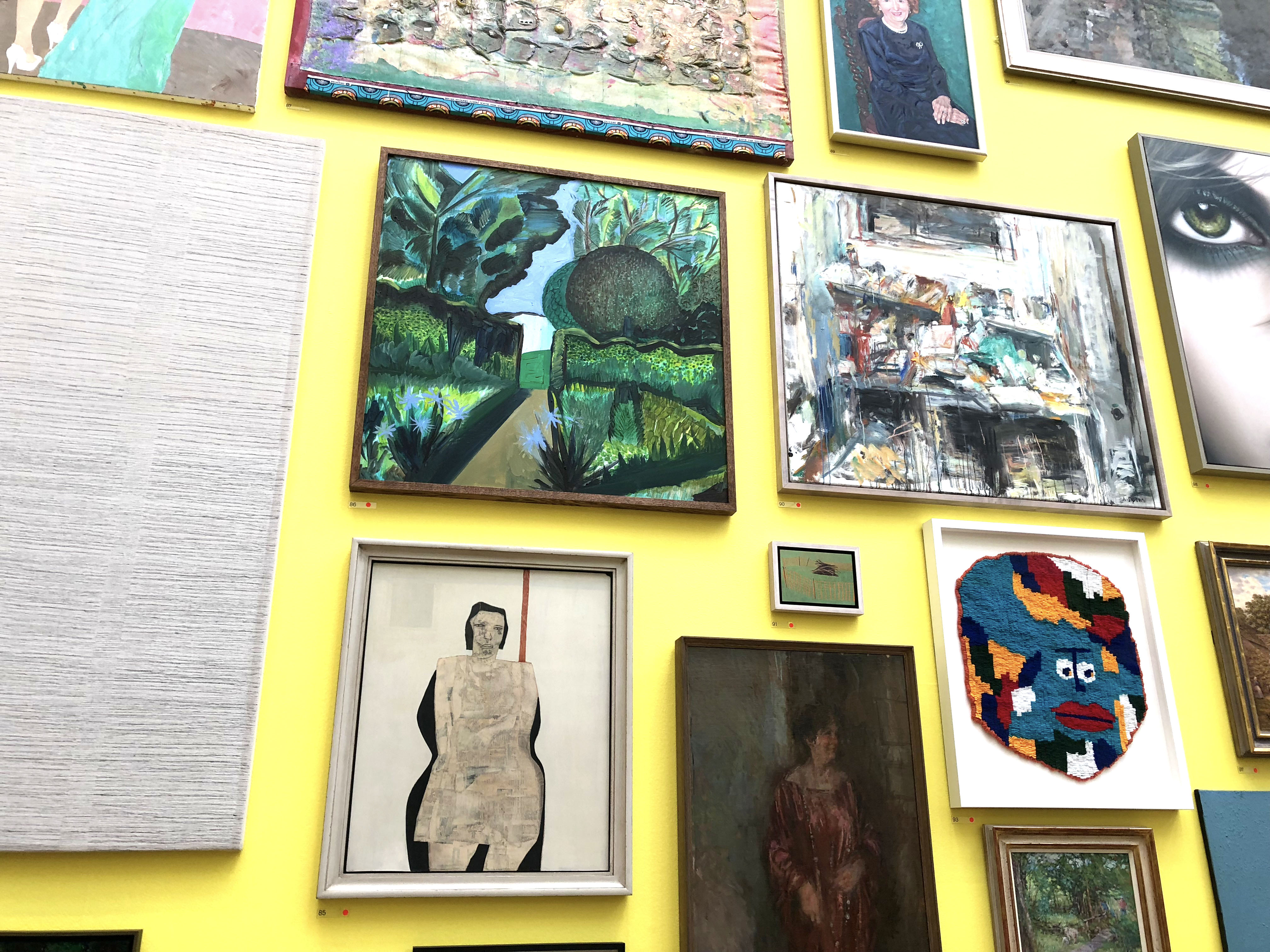 Royal Academy Summer Exhibition 2018. Lunchtime by Sophie O'Leary
