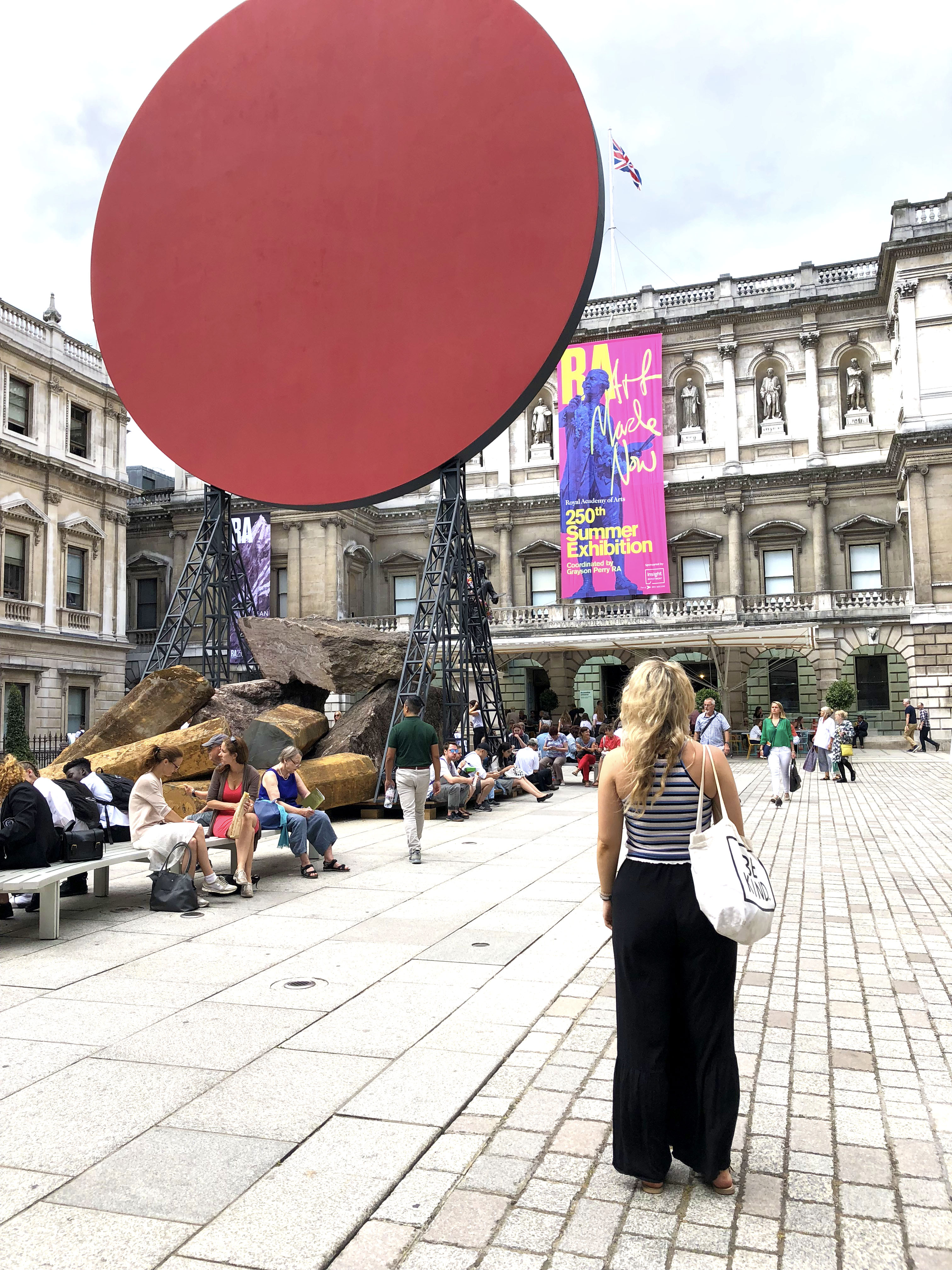 The Royal Academy of Arts Court Yard 2018