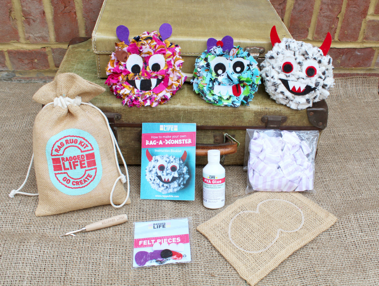 Ragged Life Children's Fabric Craft Kit