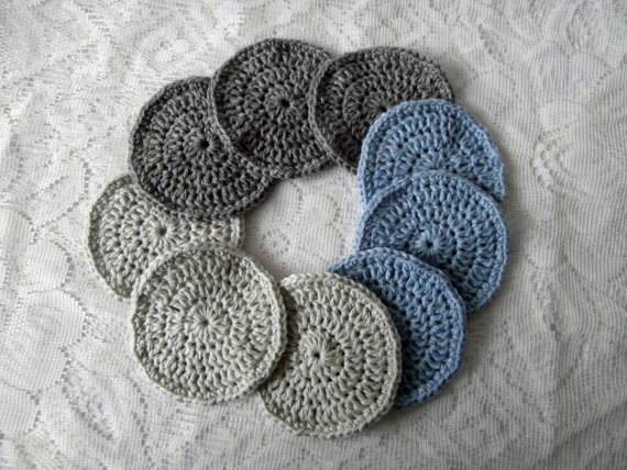 Eco-friendly Crochet Face pads
