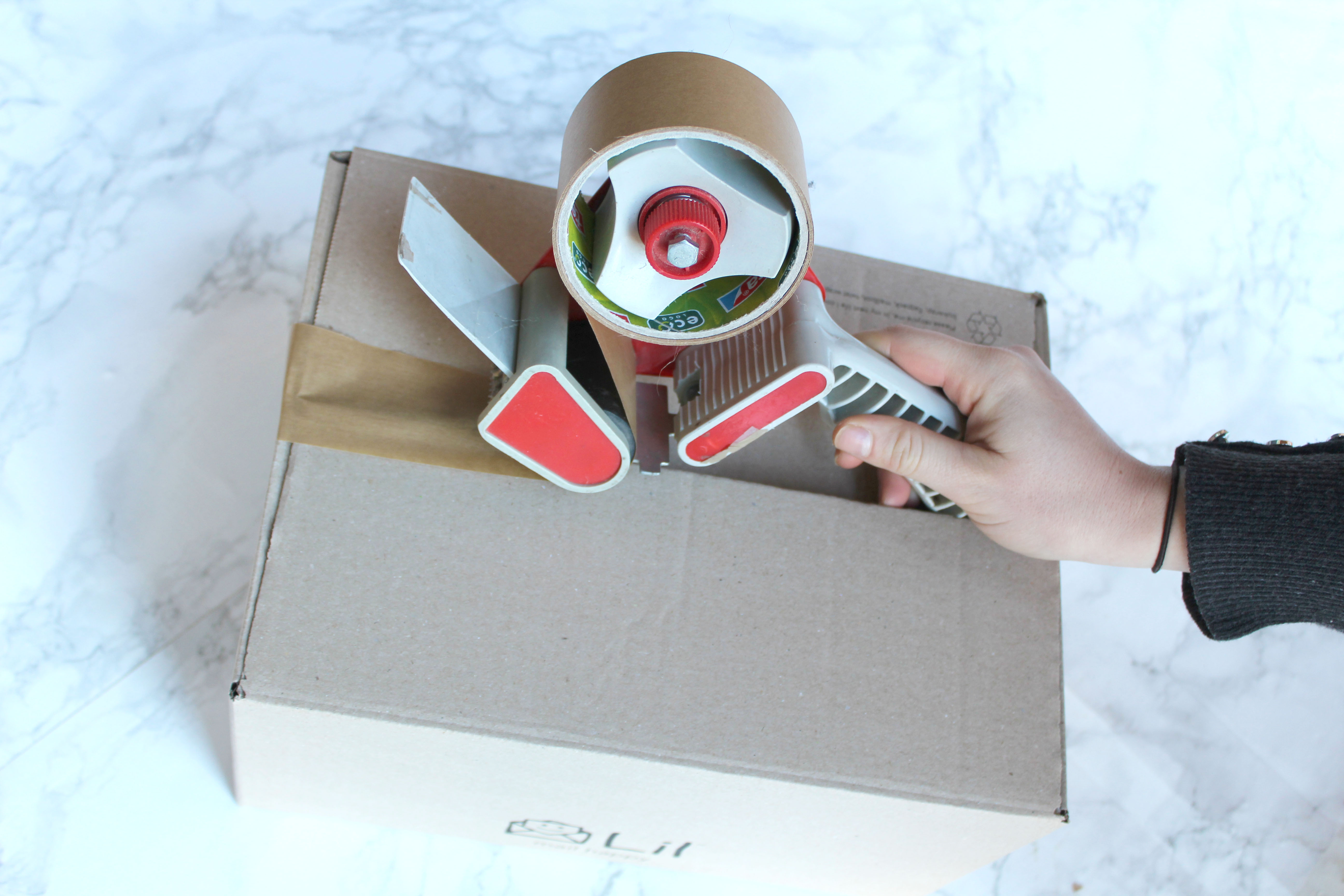 Tesa Eco-friendly packaging parcel tape for environmentally friendly packaging