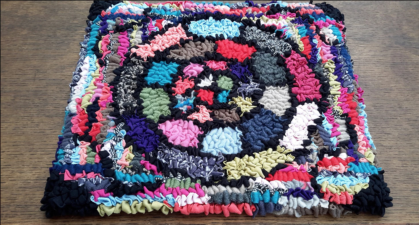 Stephanie Gaston Colourful Rag Rug
