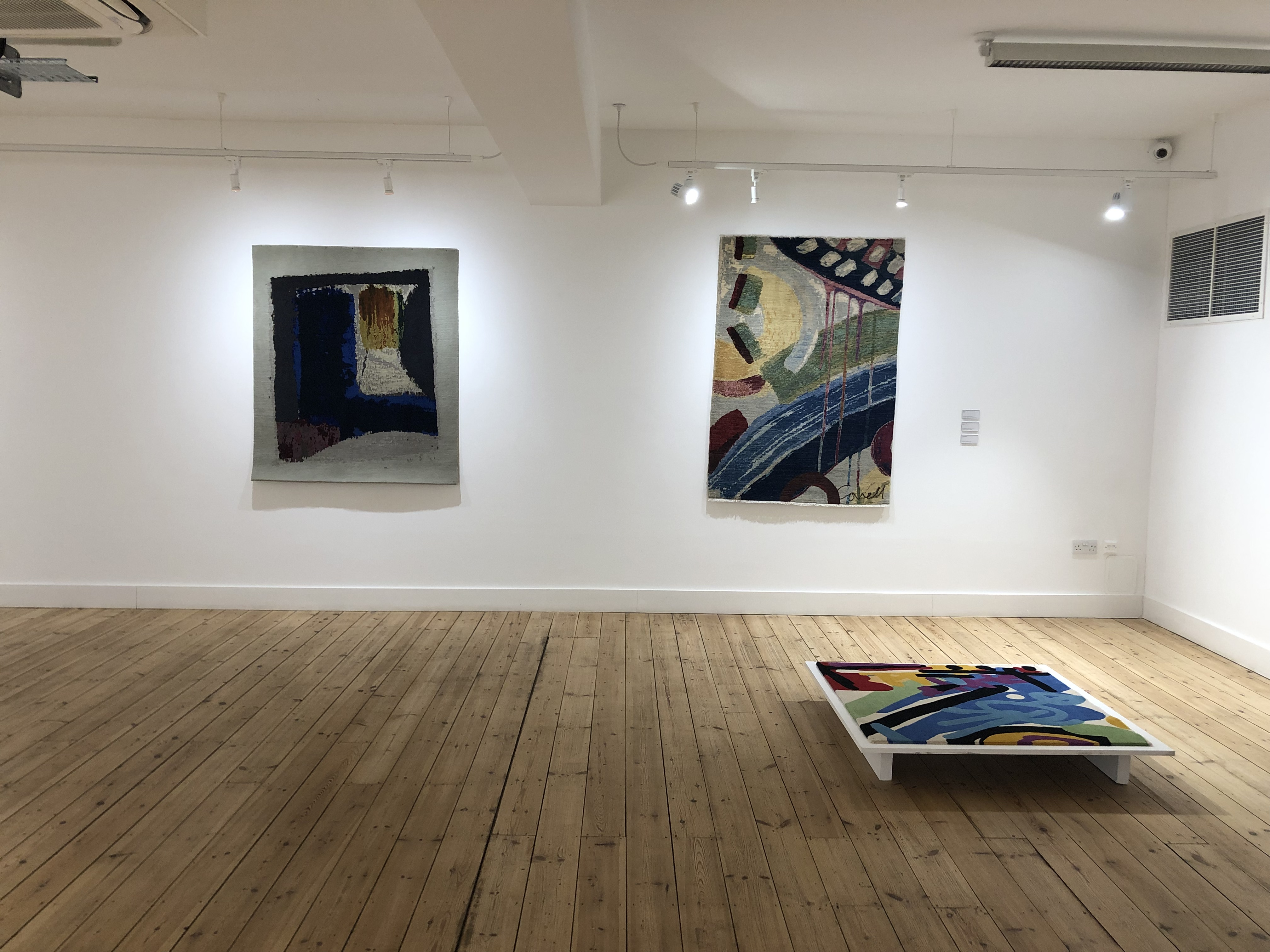 Canvas to Carpet exhibition space - Allistair Covell
