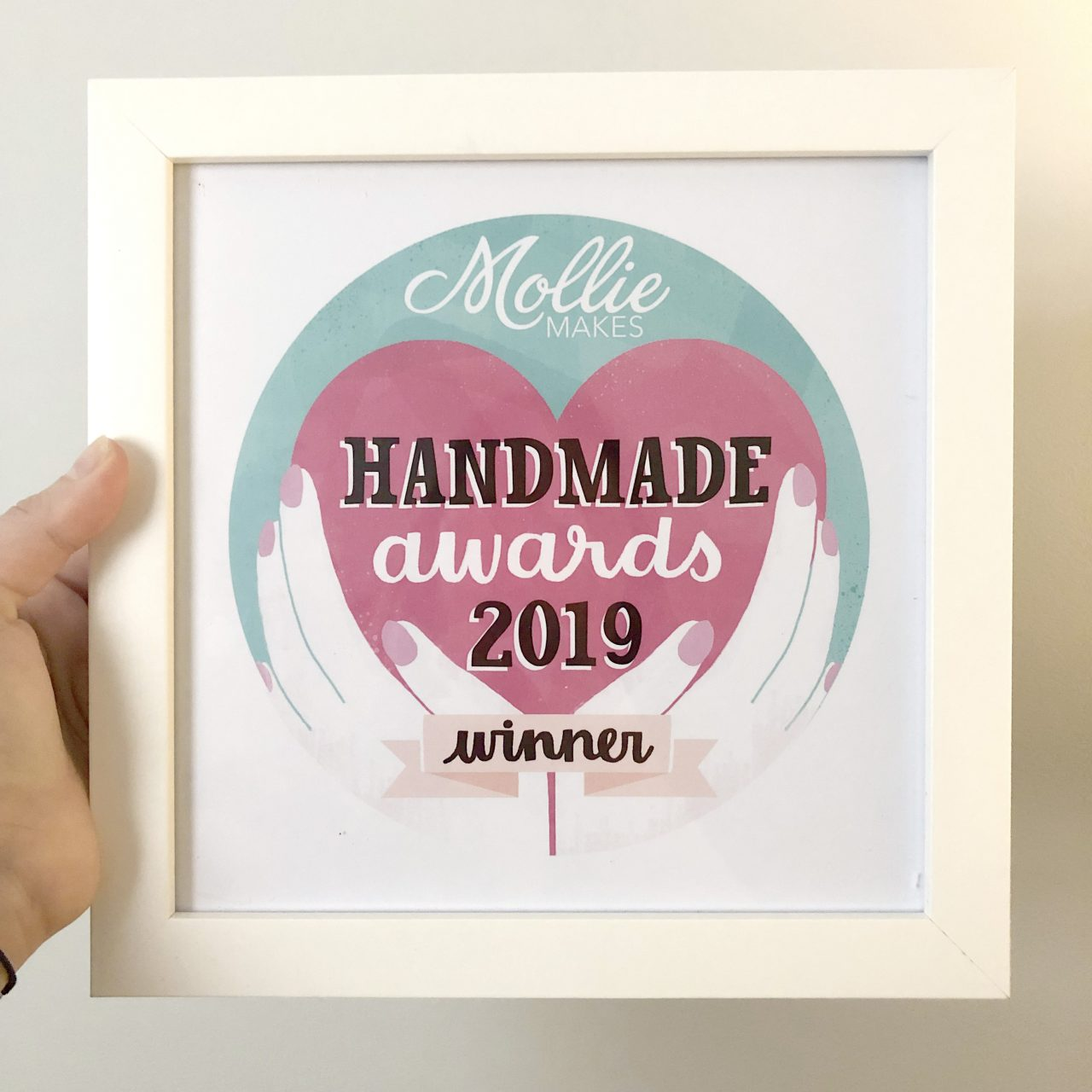 Mollie Makes Handmade Awards Winner 2019