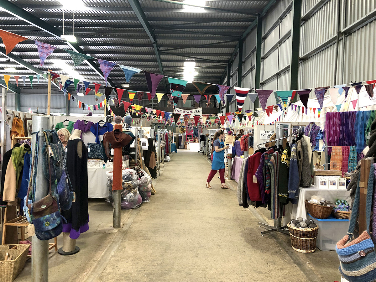 Woolfest 2019 in Cockermouth Cumbria