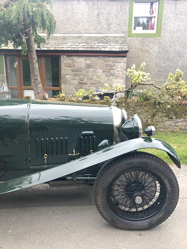 Vintage car at Blindcrake Garden Safari