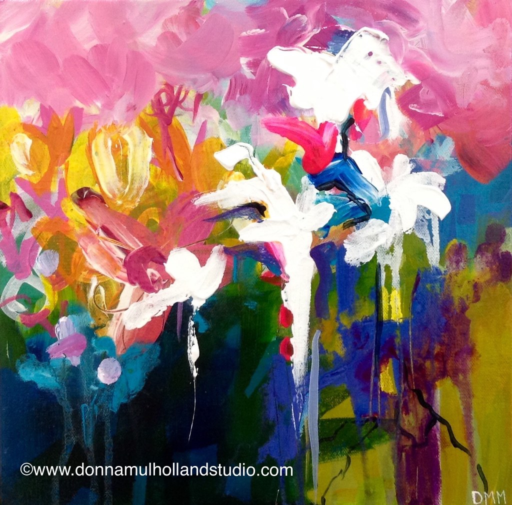 Donna Mulholland - Eve's Garden Painting
