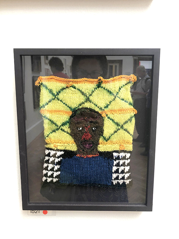 Rod Melvin British Artists knitted series