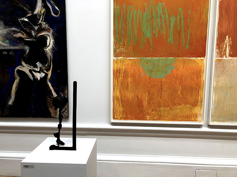 Artworks on display at the 2019 Summer Exhibition at the RA