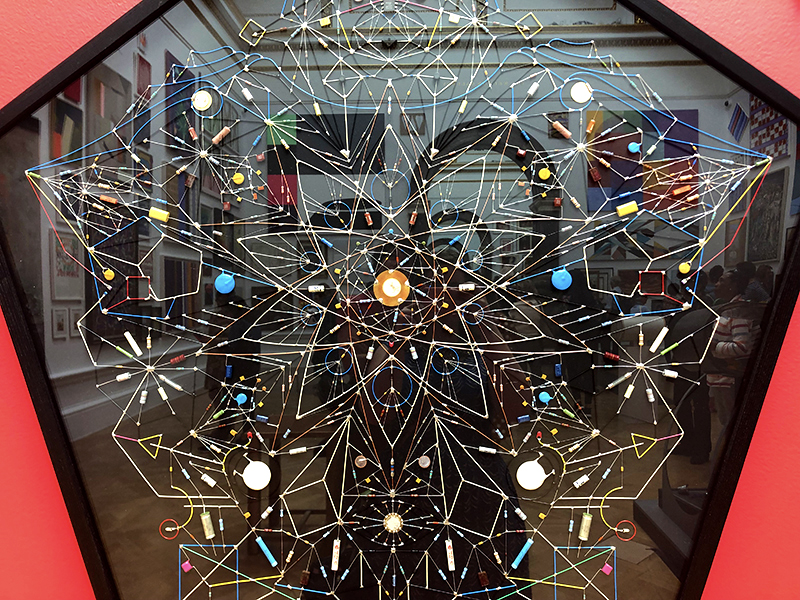 "Leonardo Ulian's ""Technological Mandala"" at the 2019 Summer Exhibition"