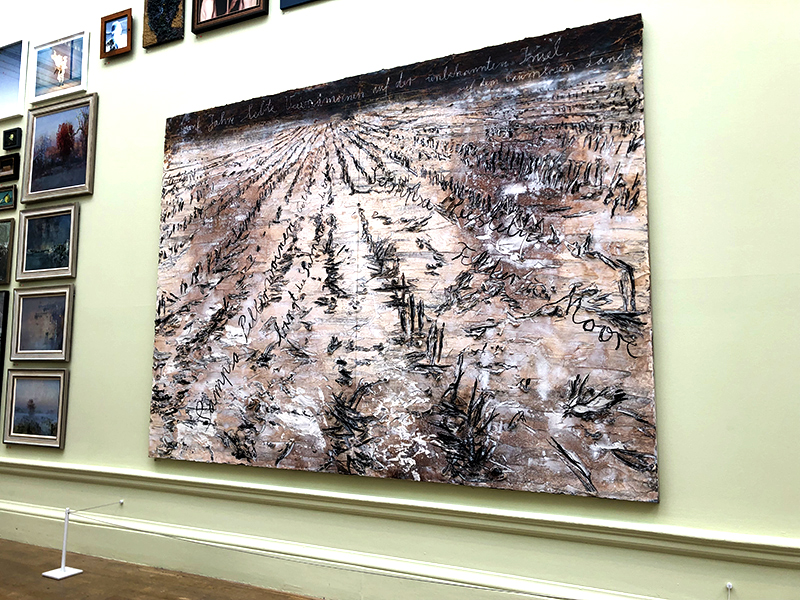 Gallery III at the Royal Academy Summer Exhibition 2019