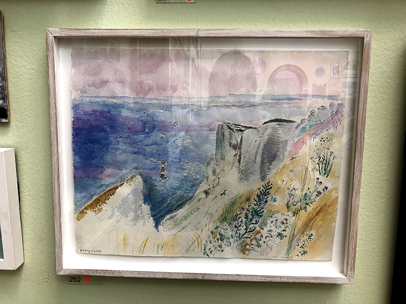 Seascape at the RA Summer Exhibition
