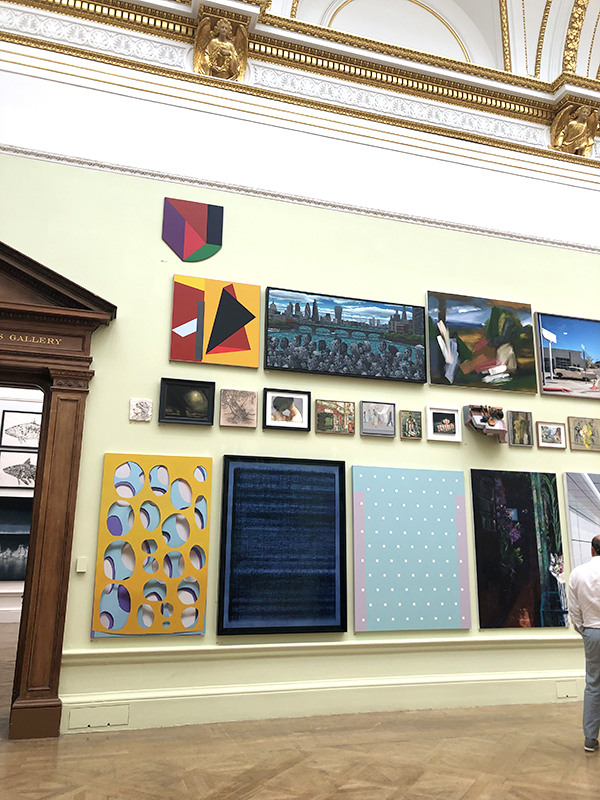 Artworks on display at the 2019 Summer Exhibition