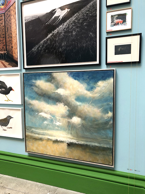 Bill Jacklin Artworks at the Royal Academy Summer Exhibition 2019