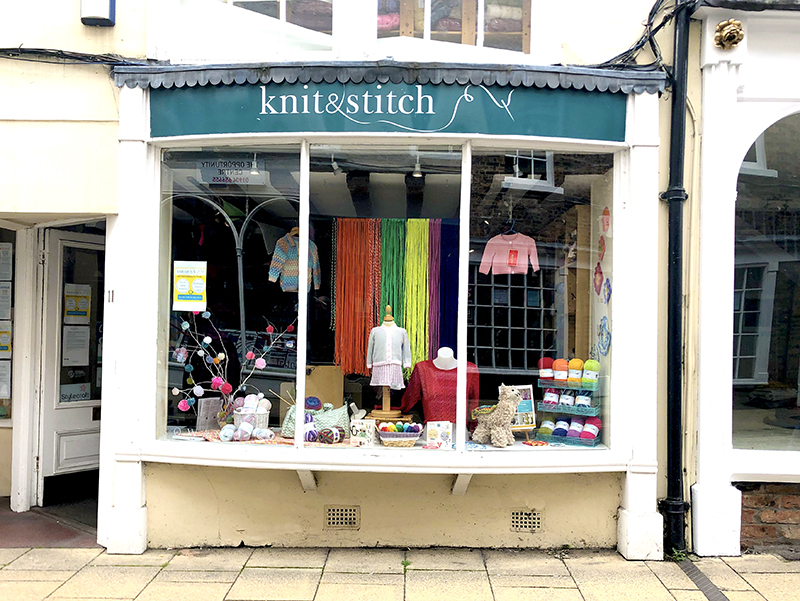 Knit and Stitch Wool shop in York