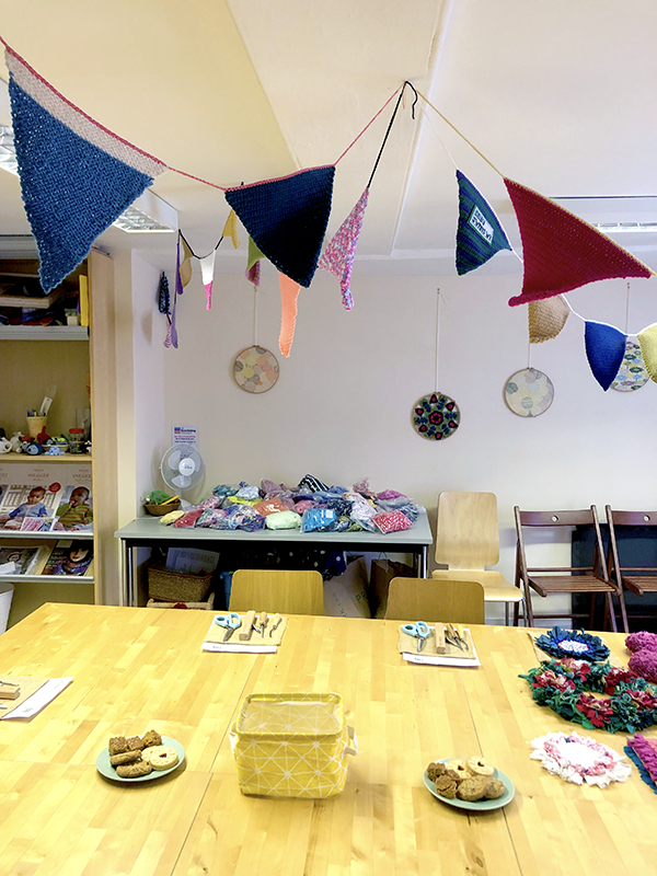 Ragged Life rag rug workshops in York at Knit and Stitch craft shop suitable for beginners