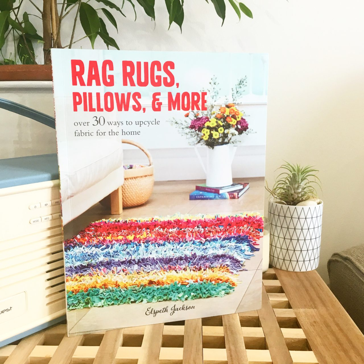 Rag rugs, Pillows and More book by Elspeth Jackson
