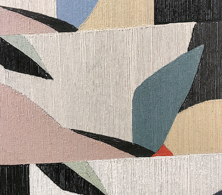 Abigail Wheeler Close Up Rug Design Patterned Shapes