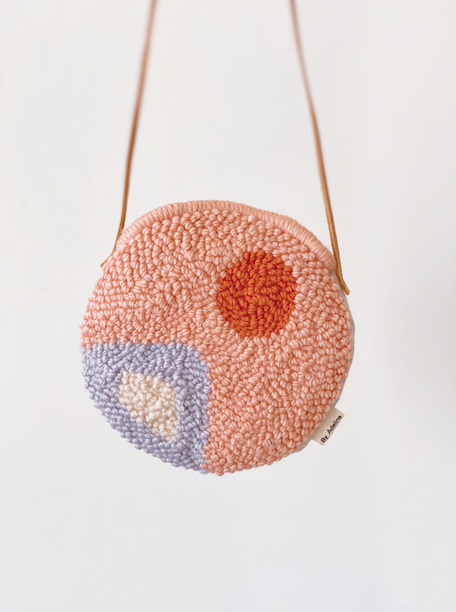 Needle Punching, Adeline Wang, bag