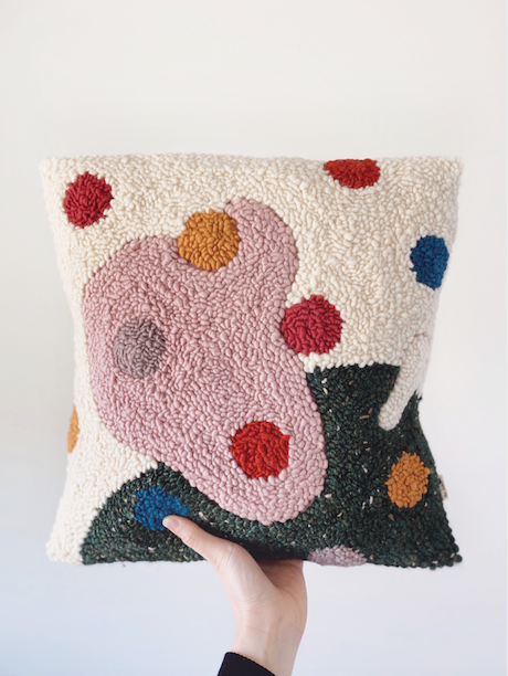 Needle Punching, Adeline Wang, cushion design