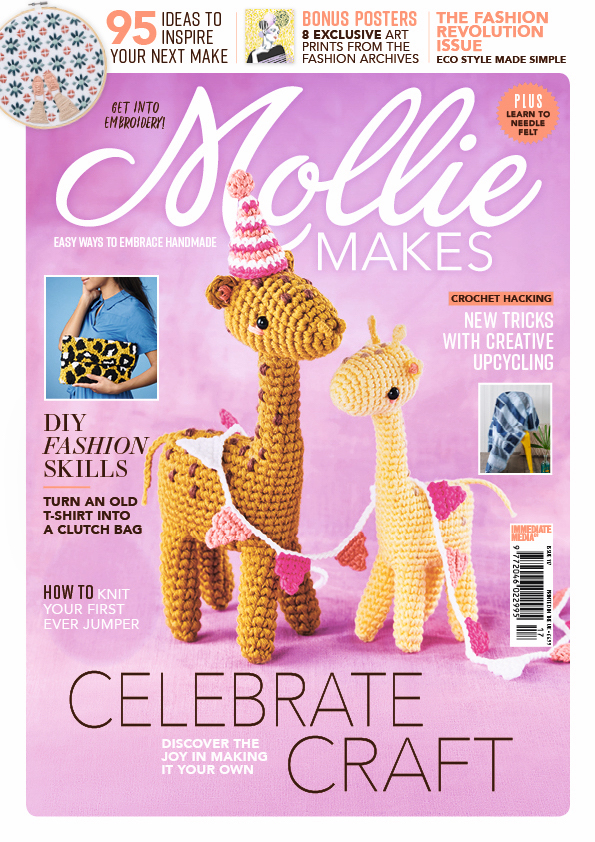 Mollie Makes Magazine Issue 117 Front Cover